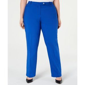 Calvin Klein Plus Size Woven Modern Fit Dress Pant